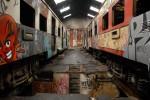 Obras de arte: America : Chile : Valparaiso : viña_del_mar : Trenes 1