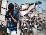 Obras de arte: America : Argentina : Chubut : Comodoro_Rivadavia : Domingo de futbol
