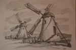 Obras de arte: Europa : España : Euskadi_Bizkaia : barakaldo : los molinos de viento