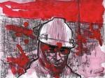 Obras de arte: America : Argentina : Chubut : Comodoro_Rivadavia : Negro y rojo 2