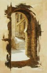 Obras de arte: Europa : España : Castilla_La_Mancha_Toledo : Toledo : Arco Puerta de Alfonso VI