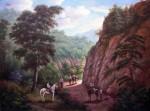 Obras de arte: America : Colombia : Santander_colombia : floridablanca : Arrieros en camino