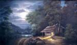 Obras de arte: America : Colombia : Santander_colombia : floridablanca : Noche de luna