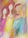 Obras de arte: America : Venezuela : Miranda : Caracas_capital : Mis mujeres y yo