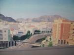 Obras de arte: Europa : España : Comunidad_Valenciana_Alicante : Xabia : Atardecer en la ciudad