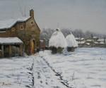Obras de arte: Europa : España : Catalunya_Girona : La_vall_de_Bas : Nieve