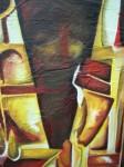 Obras de arte: America : Ecuador : Pichincha : Quito : composicion