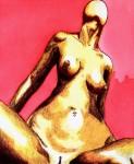 Obras de arte: America : Colombia : Antioquia : Medellin : SIN TITULO.    serie mujer fatal