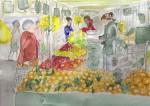 Obras de arte: Europa : España : Catalunya_Barcelona : ir_a_paso_2 : Mercado en París