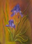 Obras de arte: America : Argentina : Buenos_Aires : Ascension : Lirios violetas