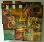 Obras de arte: America : México : Quintana_Roo : PLAYA_DEL_CARMEN : Raices en el cielo y Frutos en la Tierra