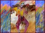 Obras de arte: America : Colombia : Boyaca : paipa : Paisaje para carnaval