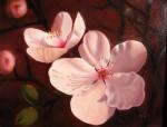 Obras de arte: America : Chile : Bio-Bio : Concepción : Flores de ciruelo