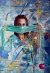 Obras de arte: America : Colombia : Santander_colombia : Bucaramanga : Serie Marascara
