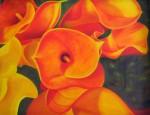 Obras de arte: America : Chile : Bio-Bio : Concepción : Calas naranjas