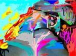 Obras de arte: America : México : Jalisco : zapopan : El hombre ante el tercer milenio