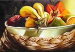Obras de arte: America : Cuba : Pinar_del_Rio : Pinar_del_Río_ciudad : CESTA DE FRUTAS