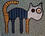 Obras de arte: Europa : España : Euskadi_Bizkaia : Dima : gato