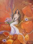 Obras de arte: America : Argentina : Buenos_Aires : Ascension : Mujer del otoño