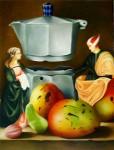 Obras de arte: America : Cuba : La_Habana : Vedado : Bodegón con mangos V