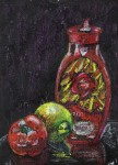 Obras de arte: Europa : España : Canarias_Santa_Cruz_de_Tenerife : Santa_Cruz_Tenerife : Ketchup, agh!