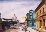 Obras de arte: America : Colombia : Sucre : sincelejo : CALLE DE SINCELEJO,  Nº 2
