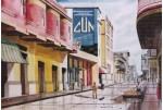 Obras de arte: America : Colombia : Sucre : sincelejo : CALLE DE SINCELEJO, COLOMBIA