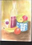 Obras de arte: America : Venezuela : Miranda : Guarenas : Bodeg�n con manzanas