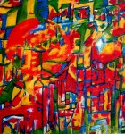 Obras de arte: America : Argentina : Buenos_Aires : Ciudad_de_Buenos_Aires : Oracion de los artistas