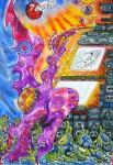Obras de arte: America : Guatemala : Guatemala-region : Guatemala-ciudad : Pájaro Galactico