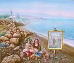 Obras de arte: Europa : España : Andalucía_Málaga : Velez_Málaga : Los amiguetes