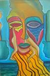 Obras de arte: America : Chile : Region_Metropolitana-Santiago : Santiago_de_Chile : Escape