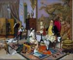 Obras de arte: Europa : España : Andalucía_Málaga : Málaga_ciudad : Su primera lección