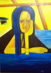 Obras de arte: America : Chile : Region_Metropolitana-Santiago : Santiago_de_Chile : Pensando