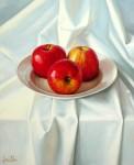 Obras de arte: Europa : España : Andalucía_Sevilla : Sevilla-ciudad : Bodegón con manzanas
