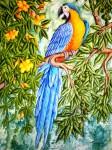 Obras de arte: America : Venezuela : Miranda : Caracas_ciudad : Guacamayo Azul