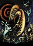 Obras de arte: America : Argentina : Buenos_Aires : 9_de_julio : Y los pájaros salieron a cazar hombres 3