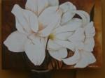 Obras de arte: America : Argentina : Entre_Rios : Paraná : flores blancas