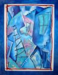 Obras de arte: America : México : Mexico_Distrito-Federal : Gustavo_A._Madero : ESPACIOS DEL ALMA BAJO TODAS LAS LUNAS AZULES