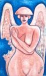 Obras de arte: America : México : Chihuahua : ciudad_juarez : angel con una ala desgarrada