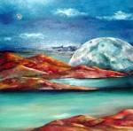 Obras de arte: Asia : Israel : Southern-Israel : beersheva : luna de dos mares