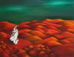 Obras de arte: Asia : Israel : Southern-Israel : beersheva : desierto rojo