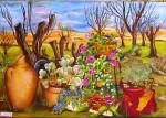 Obras de arte: Asia : Israel : Southern-Israel : beersheva : en mi jardin
