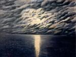 Obras de arte: Europa : España : Galicia_La_Coruña : Coruna : Luar no mar