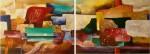 Obras de arte: Asia : Israel : Southern-Israel : beersheva : diptico conjugado