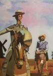 Obras de arte: Europa : España : Castilla_y_León_Burgos : Miranda_de_Ebro : Quijote ( copia)