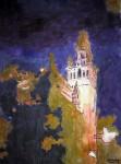 Obras de arte: Europa : España : Andalucía_Sevilla : paso_2 : Giralda nocturna