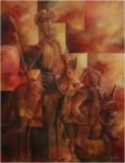 Obras de arte: America : México : Mexico_Distrito-Federal : Coyoacan : Don Quijote