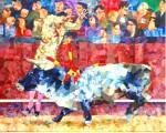 """Obras de arte: Europa : España : Andalucía_Sevilla : Sevilla-ciudad : """"REUNIÓN"""""""