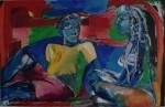 Obras de arte: Europa : Alemania : Berlin : Willmersdorf : conversación